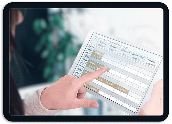 Bild Auch Gruppentermine sind möglich - OTS - Das smarte Online-Terminvergabe-System