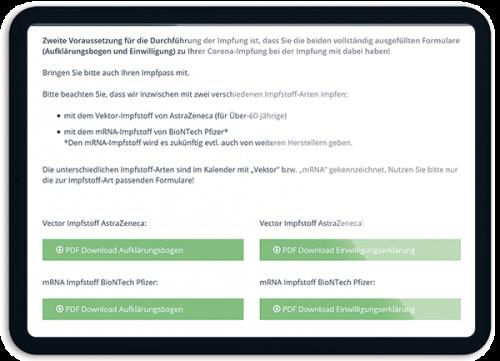 Bild Entlastung für Praxis - OTS - Das smarte Online-Terminvergabe-System