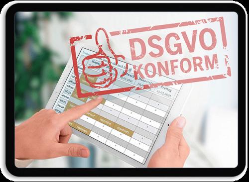 Bild DSGVO-konform - OTS - Das smarte Online-Terminvergabe-System